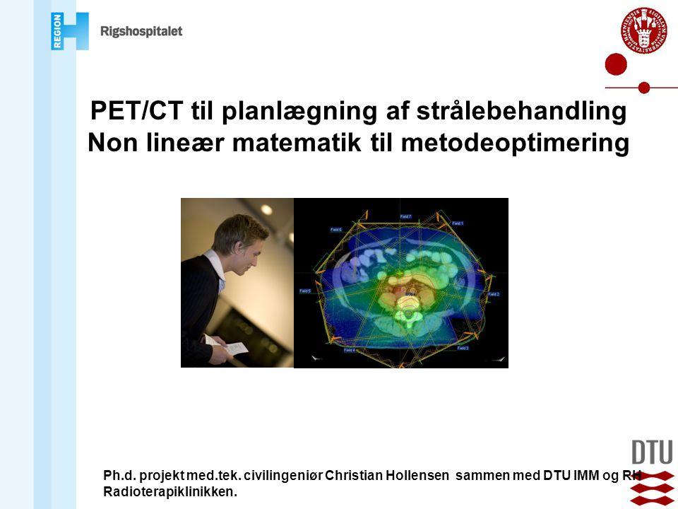 PET/CT til planlægning af strålebehandling