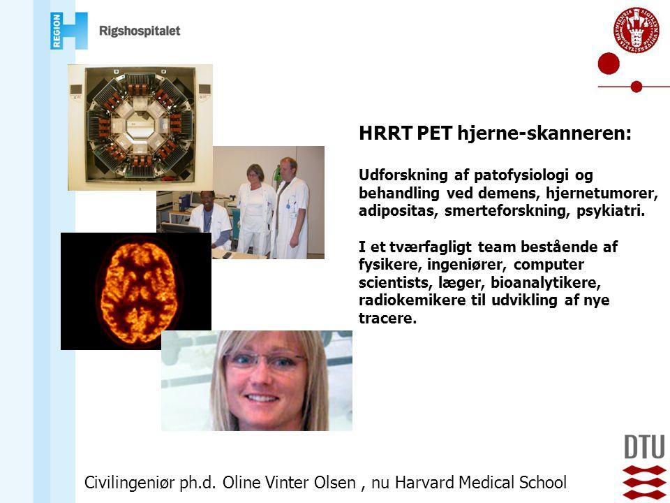 HRRT PET hjerne-skanneren: