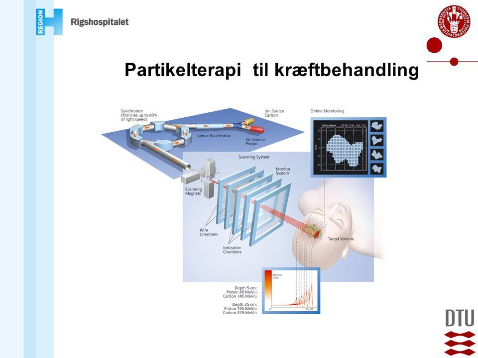 Partikelterapi til kræftbehandling
