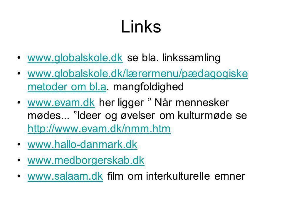 Links www.globalskole.dk se bla. linkssamling