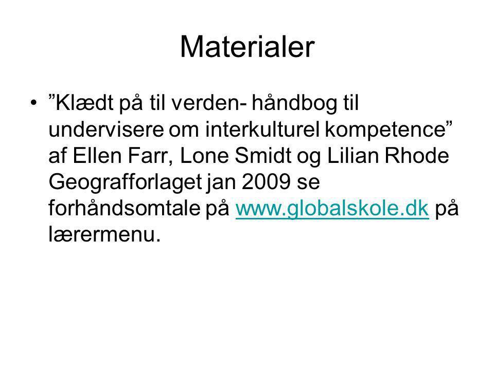 Materialer