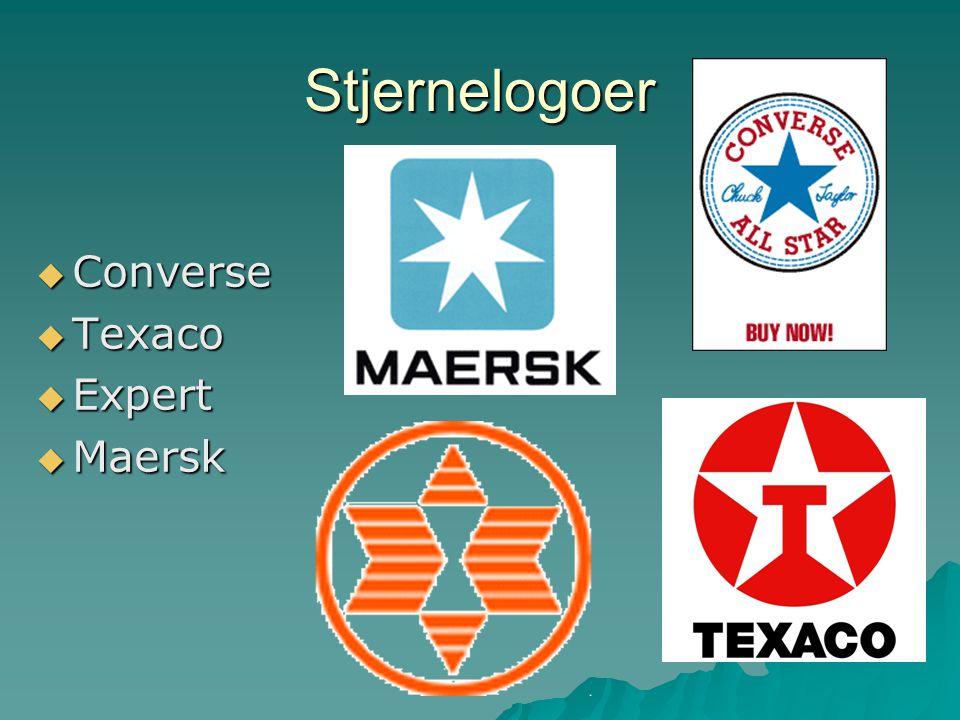 Stjernelogoer Converse Texaco Expert Maersk