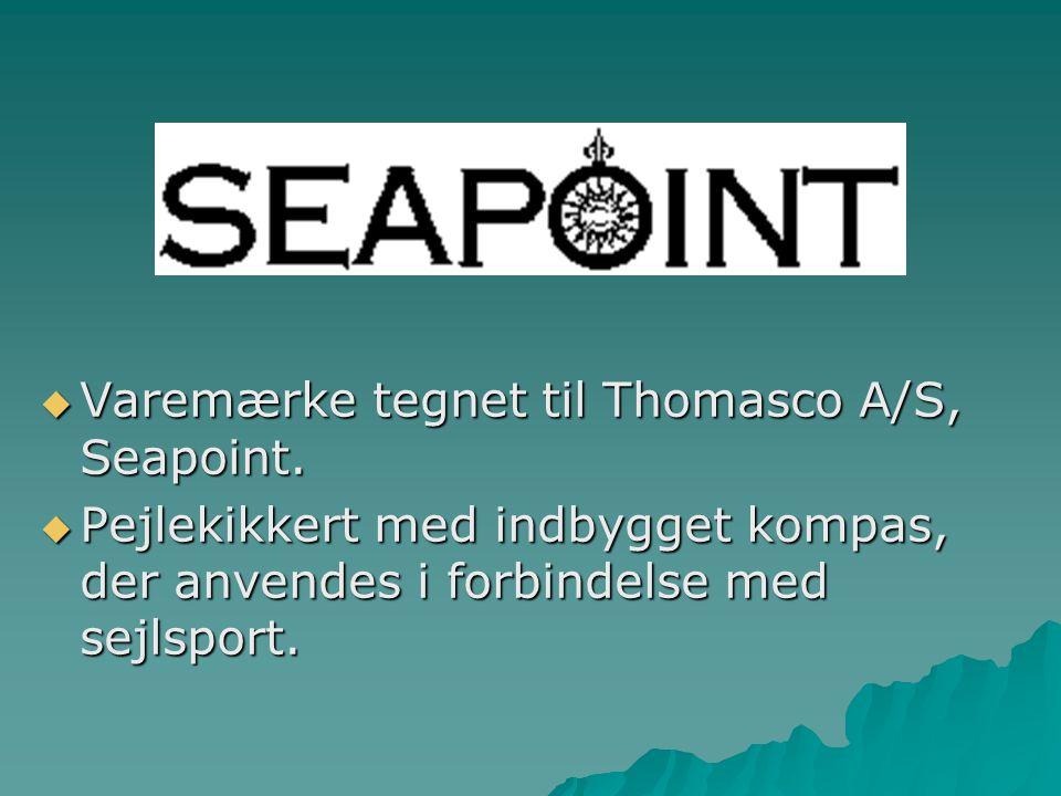 Varemærke tegnet til Thomasco A/S, Seapoint.