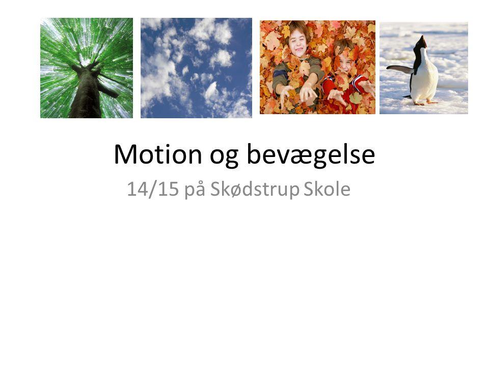 Motion og bevægelse 14/15 på Skødstrup Skole