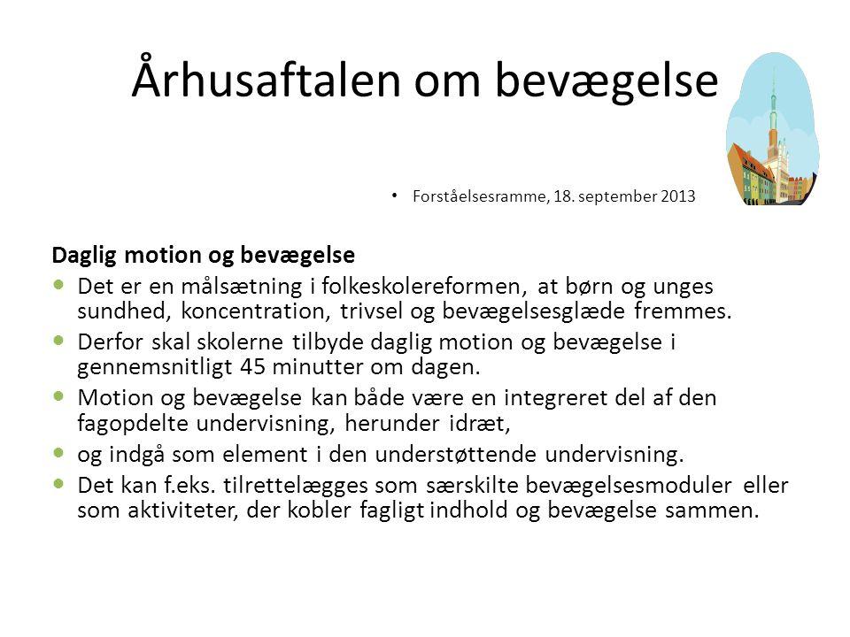 Århusaftalen om bevægelse