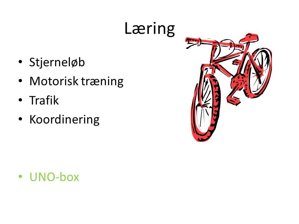 Læring Stjerneløb Motorisk træning Trafik Koordinering UNO-box