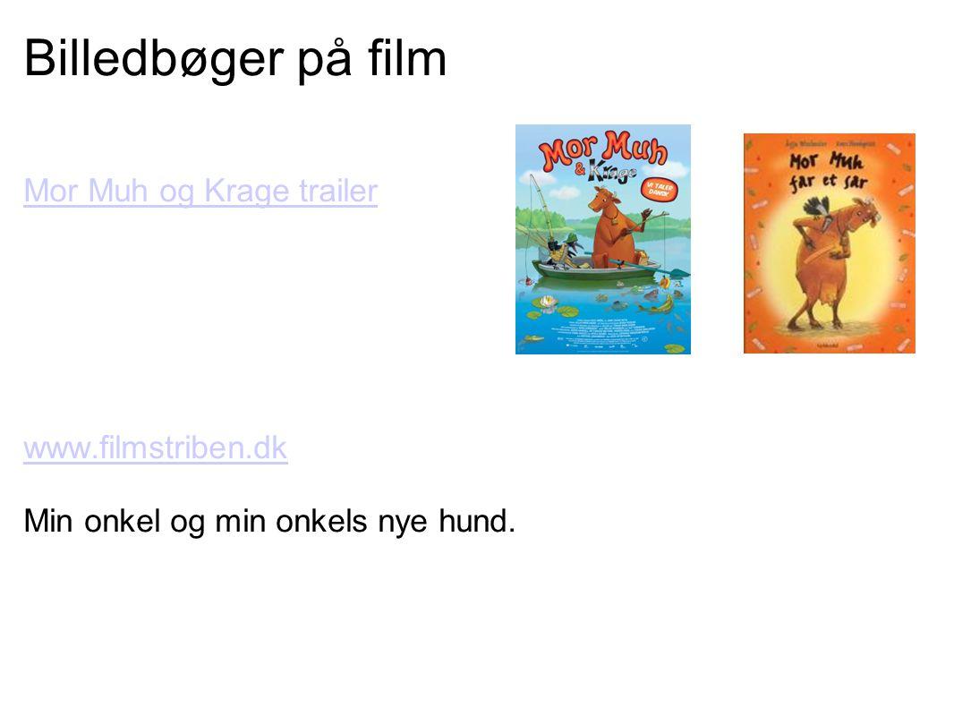 Billedbøger på film Mor Muh og Krage trailer www.filmstriben.dk