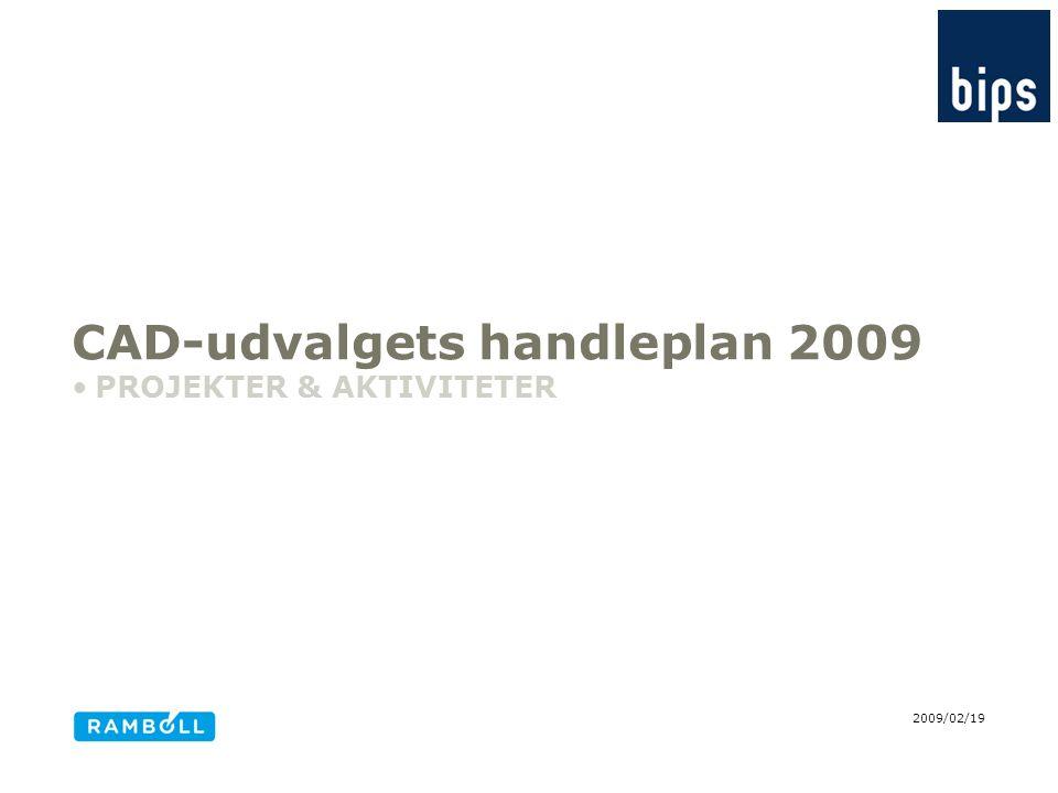 CAD-udvalgets handleplan 2009