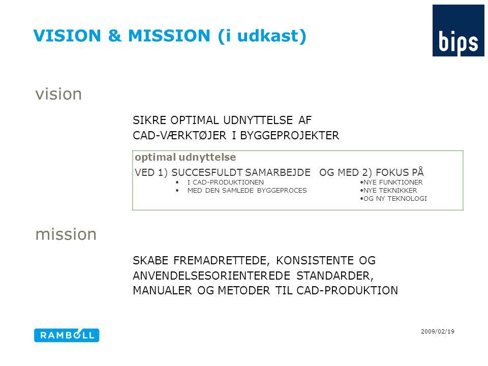 VISION & MISSION (i udkast)