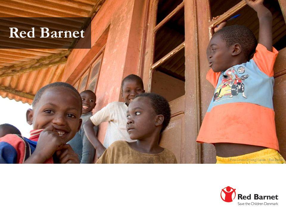 Red Barnet Foto: Louise Dyring Nielsen / Red Barnet