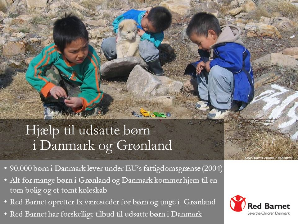 Hjælp til udsatte børn i Danmark og Grønland