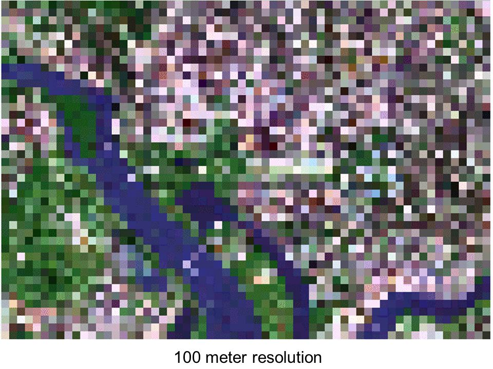 100 meter resolution