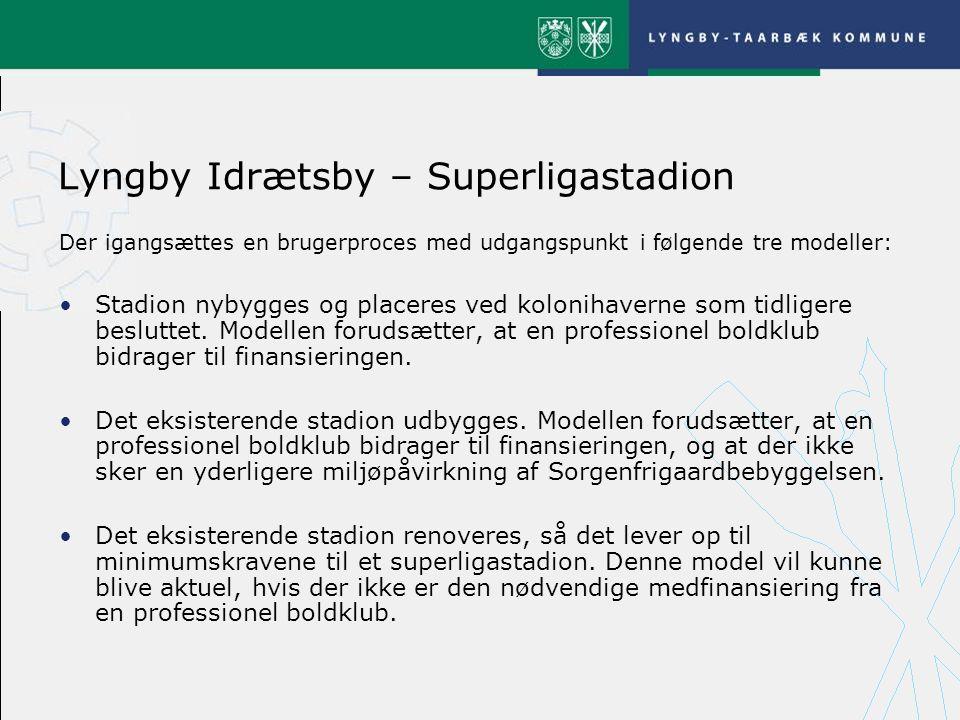 Lyngby Idrætsby – Superligastadion