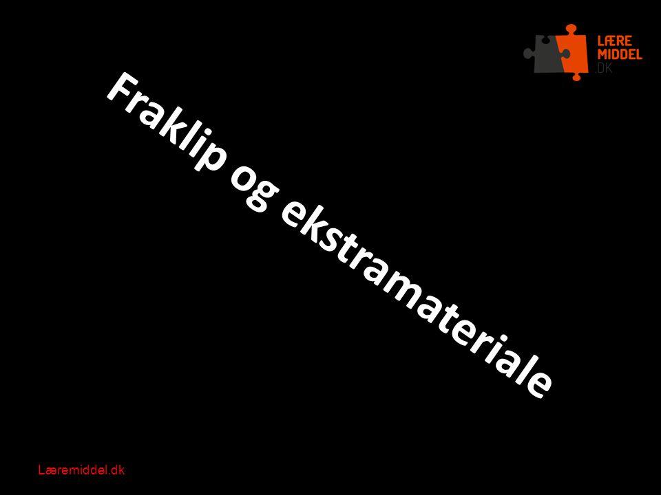 Fraklip og ekstramateriale