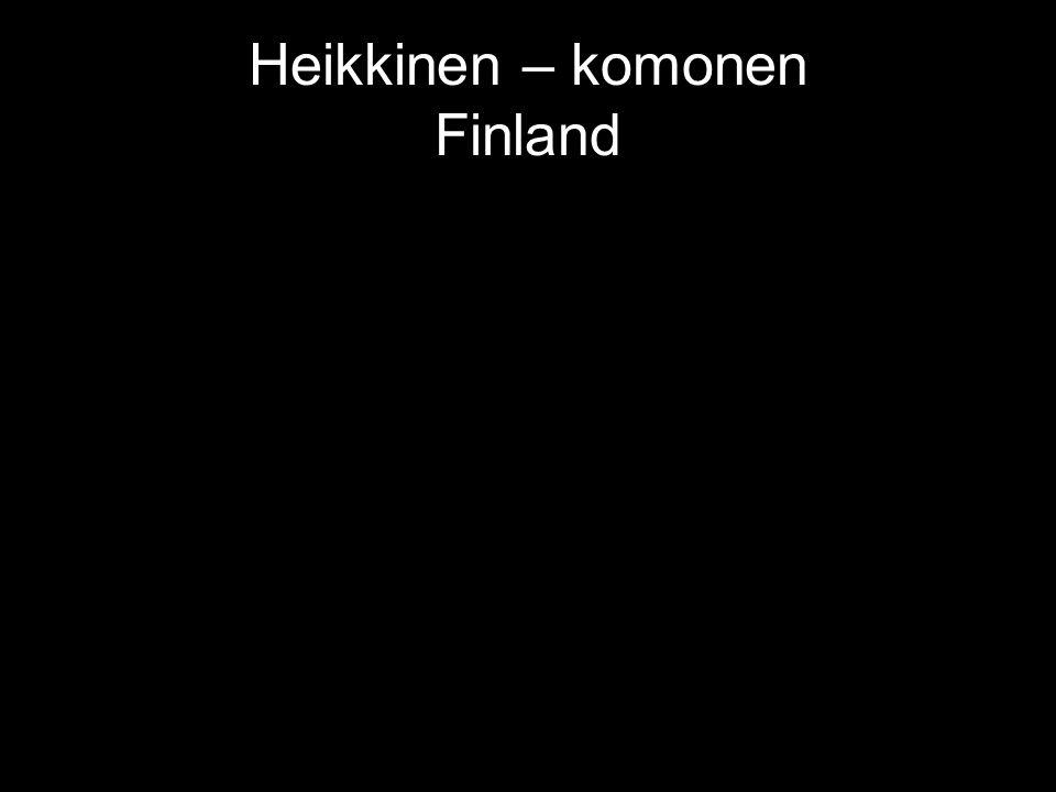 Heikkinen – komonen Finland