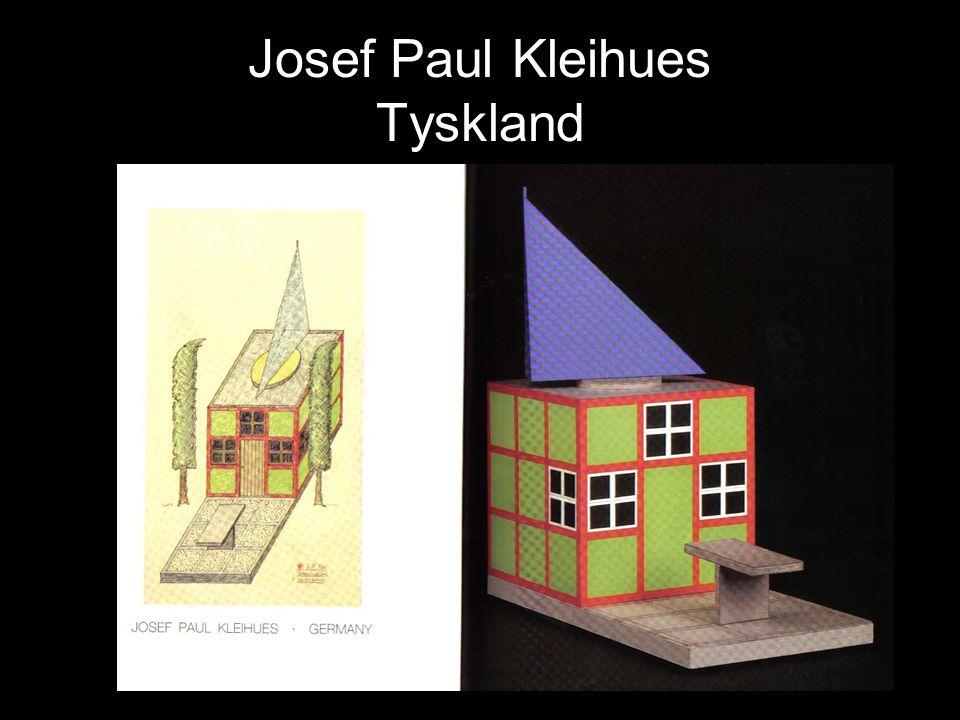 Josef Paul Kleihues Tyskland