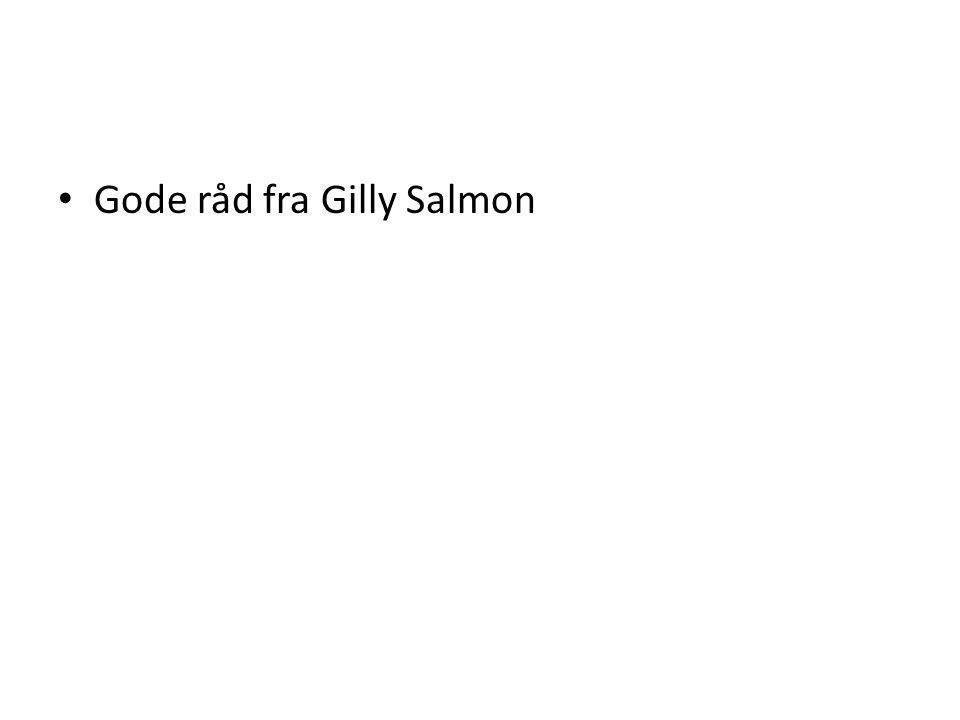 Gode råd fra Gilly Salmon
