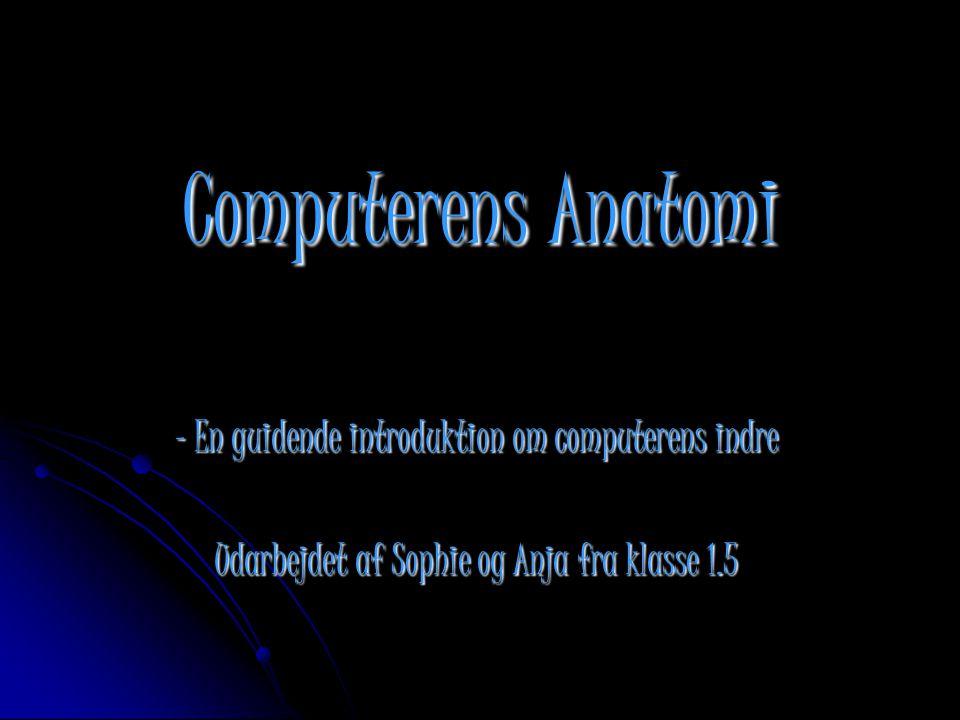 Computerens Anatomi - En guidende introduktion om computerens indre