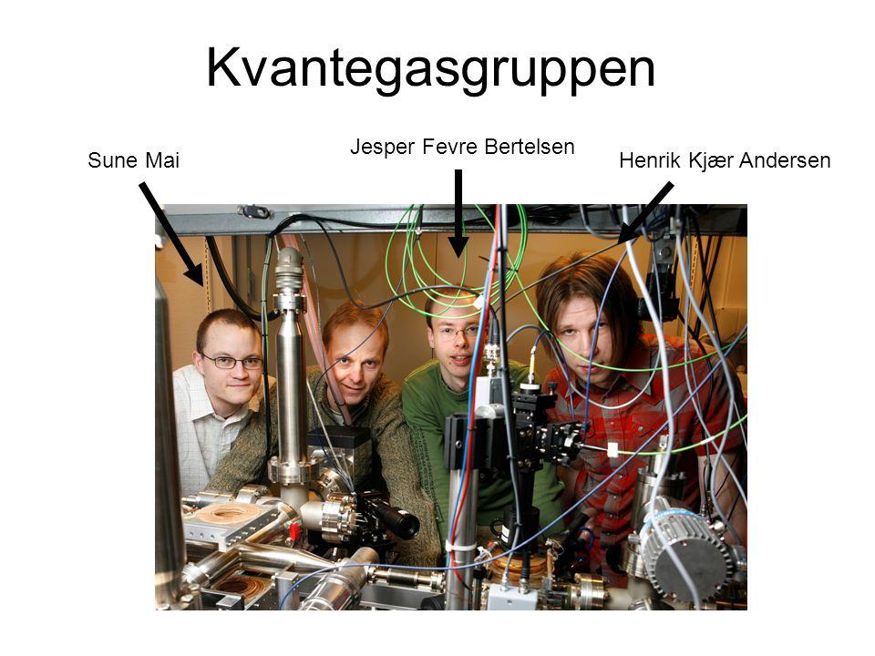 Kvantegasgruppen Jesper Fevre Bertelsen Sune Mai Henrik Kjær Andersen