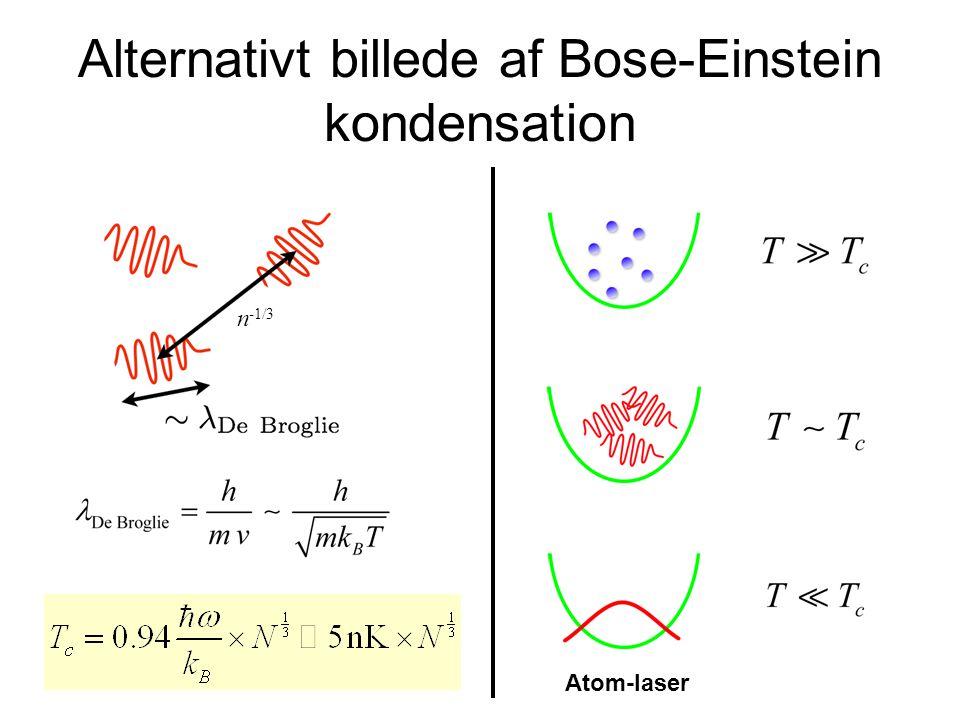Alternativt billede af Bose-Einstein kondensation