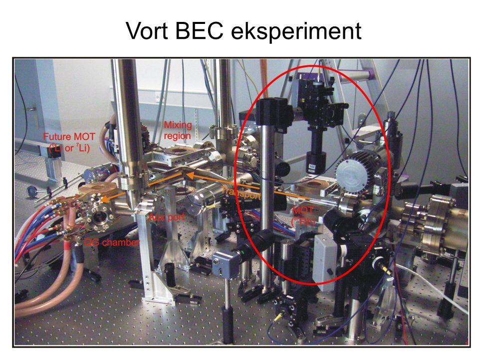 Vort BEC eksperiment