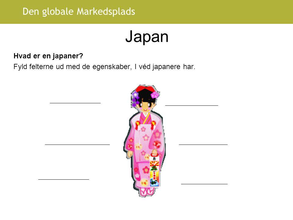 Japan Hvad er en japaner