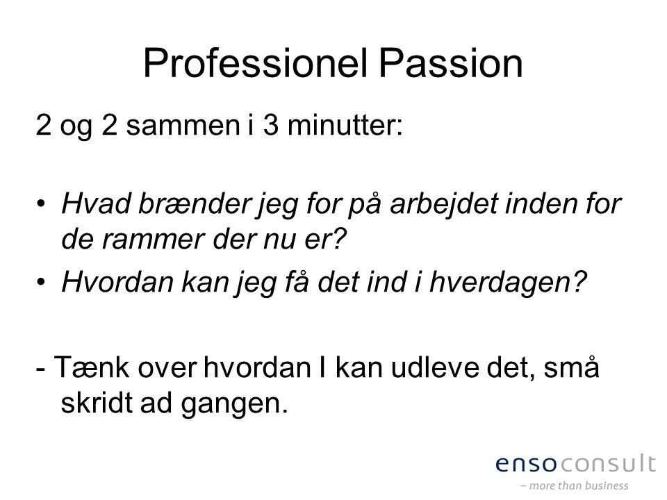 Professionel Passion 2 og 2 sammen i 3 minutter: