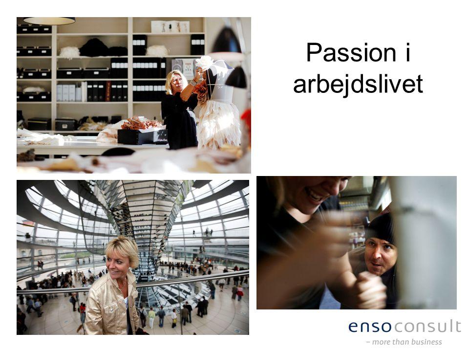 Passion i arbejdslivet