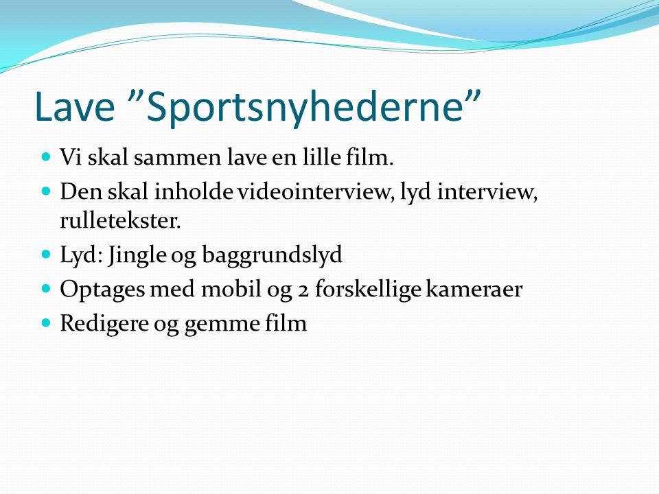 Lave Sportsnyhederne