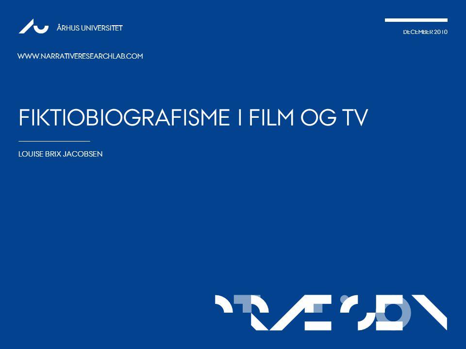 fiktiobiografisme i film og tv