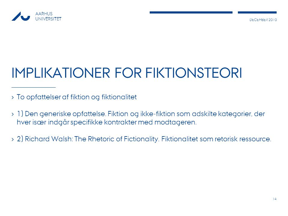 Implikationer for fiktionsteori