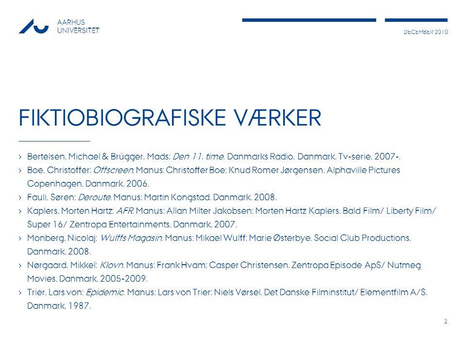 Fiktiobiografiske værker