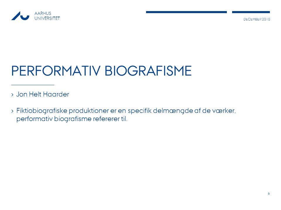 Performativ Biografisme