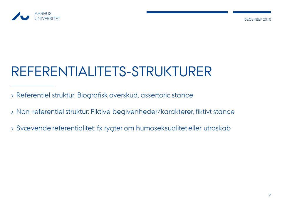 Referentialitets-strukturer