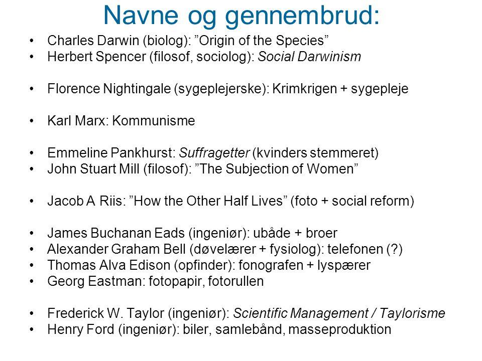 Navne og gennembrud: Charles Darwin (biolog): Origin of the Species