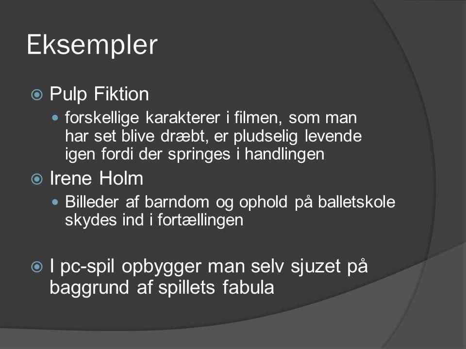 Eksempler Pulp Fiktion Irene Holm