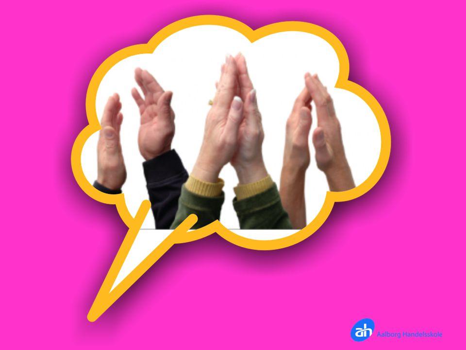 Energizer: Klap: 1=venstre, 2=højre, 3=begge hænder
