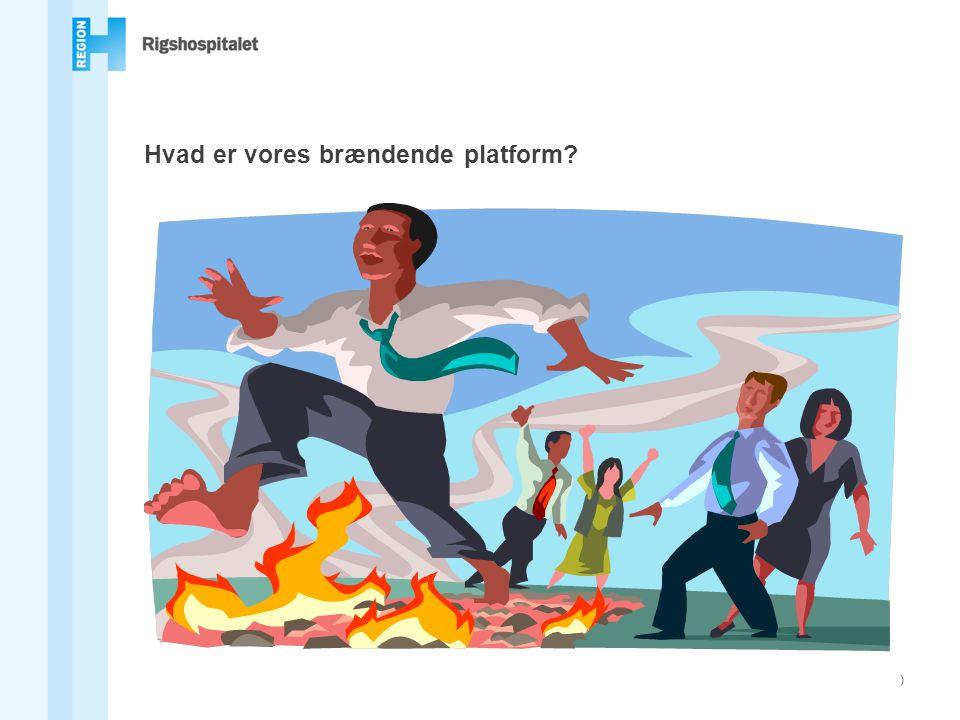 Hvad er vores brændende platform