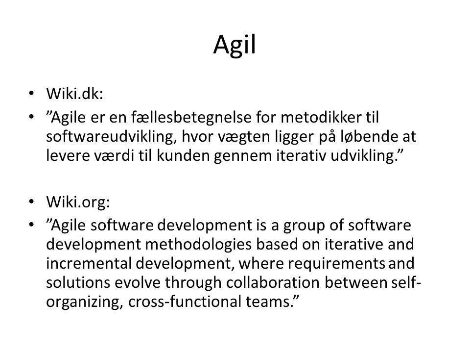 Agil Wiki.dk: