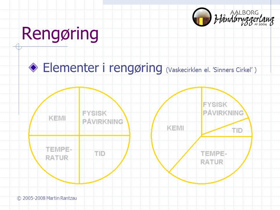 Rengøring Elementer i rengøring (Vaskecirklen el. 'Sinners Cirkel' )