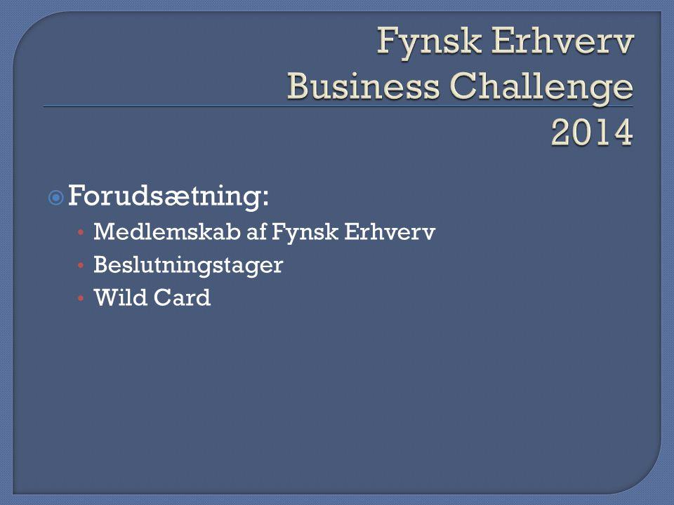 Fynsk Erhverv Business Challenge 2014