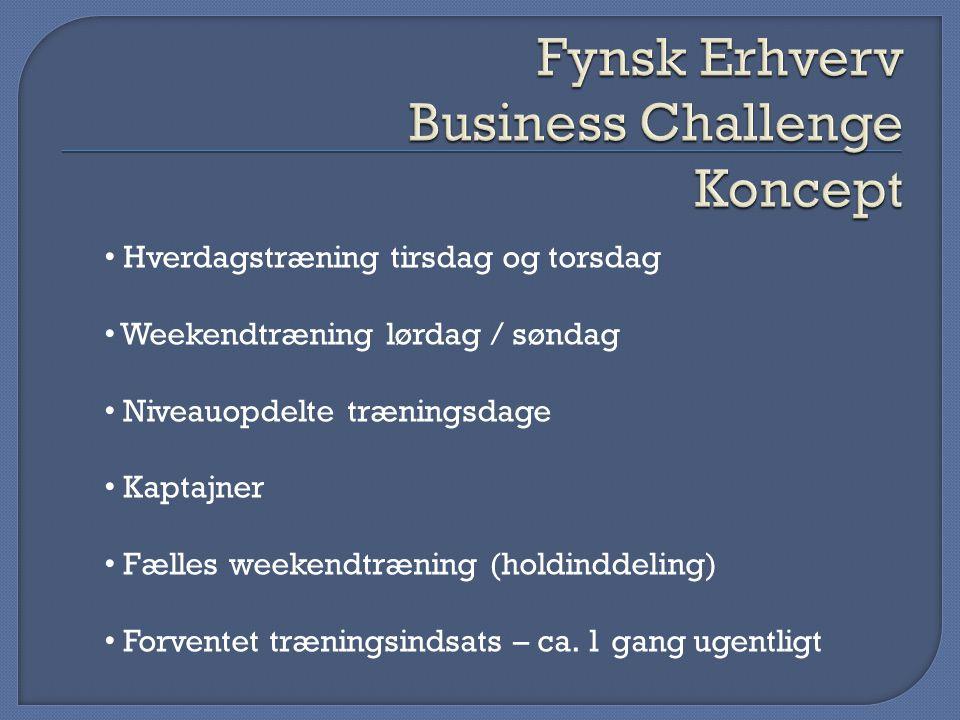 Fynsk Erhverv Business Challenge Koncept