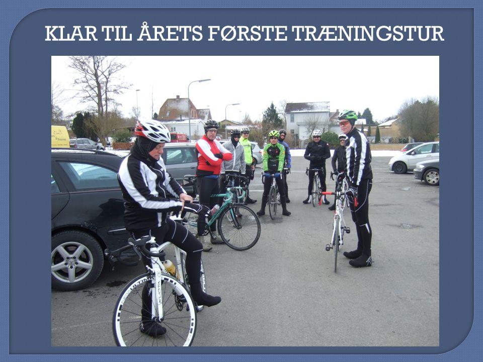 KLAR TIL ÅRETS FØRSTE TRÆNINGSTUR
