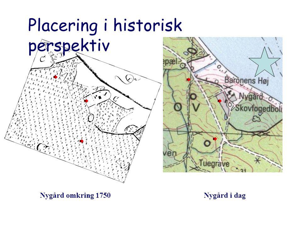 Placering i historisk perspektiv