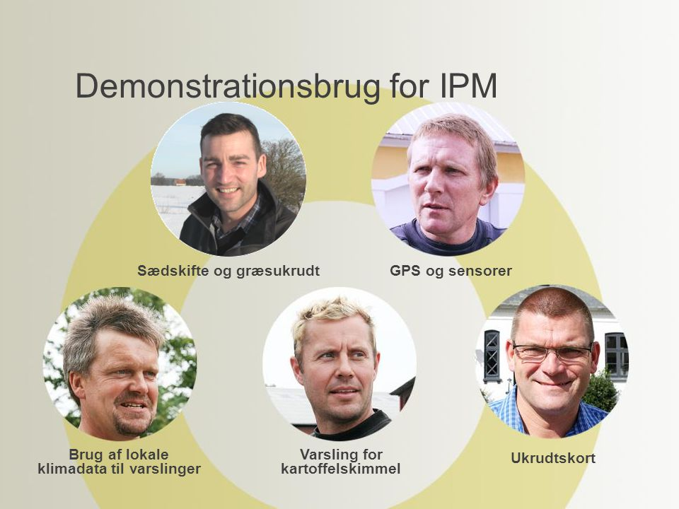 Demonstrationsbrug for IPM