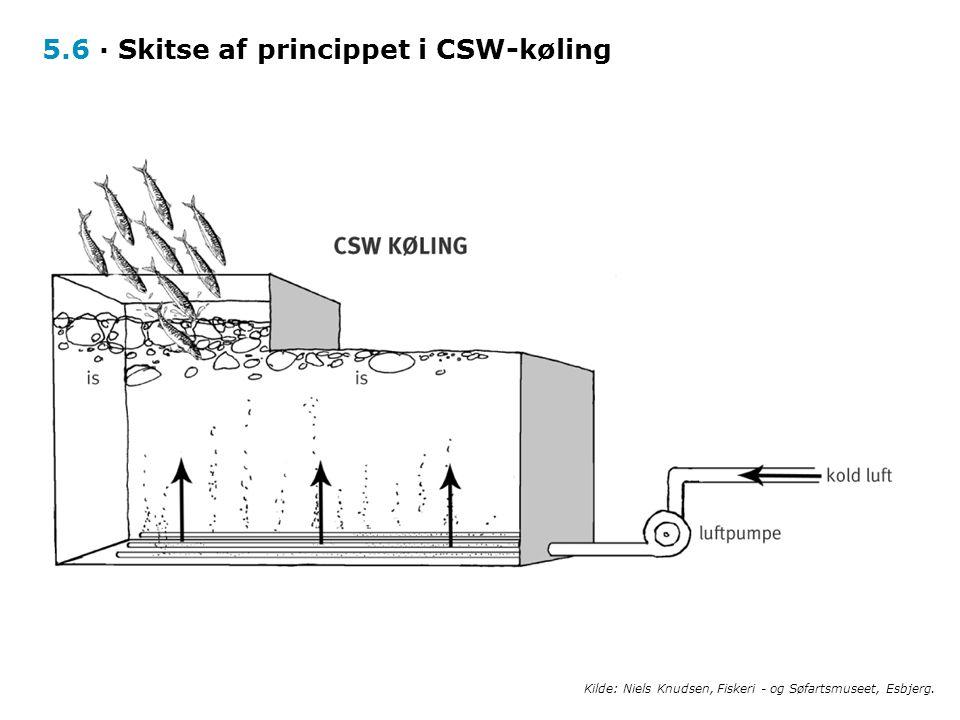 5.6 · Skitse af princippet i CSW-køling