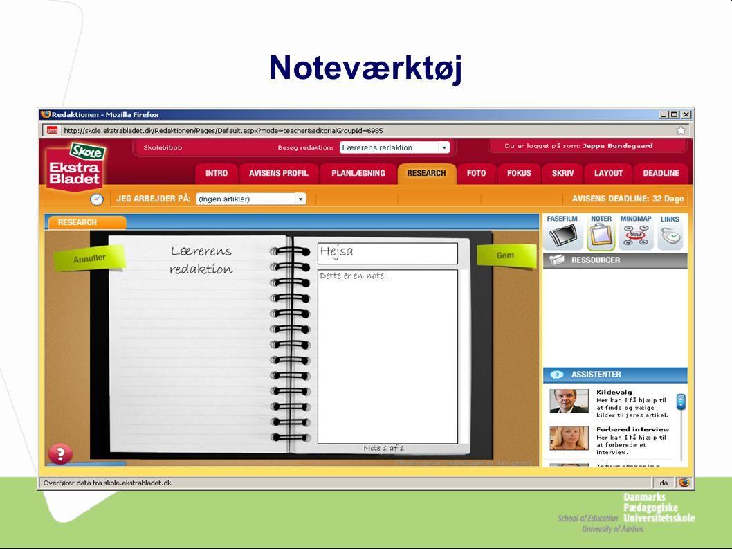Noteværktøj