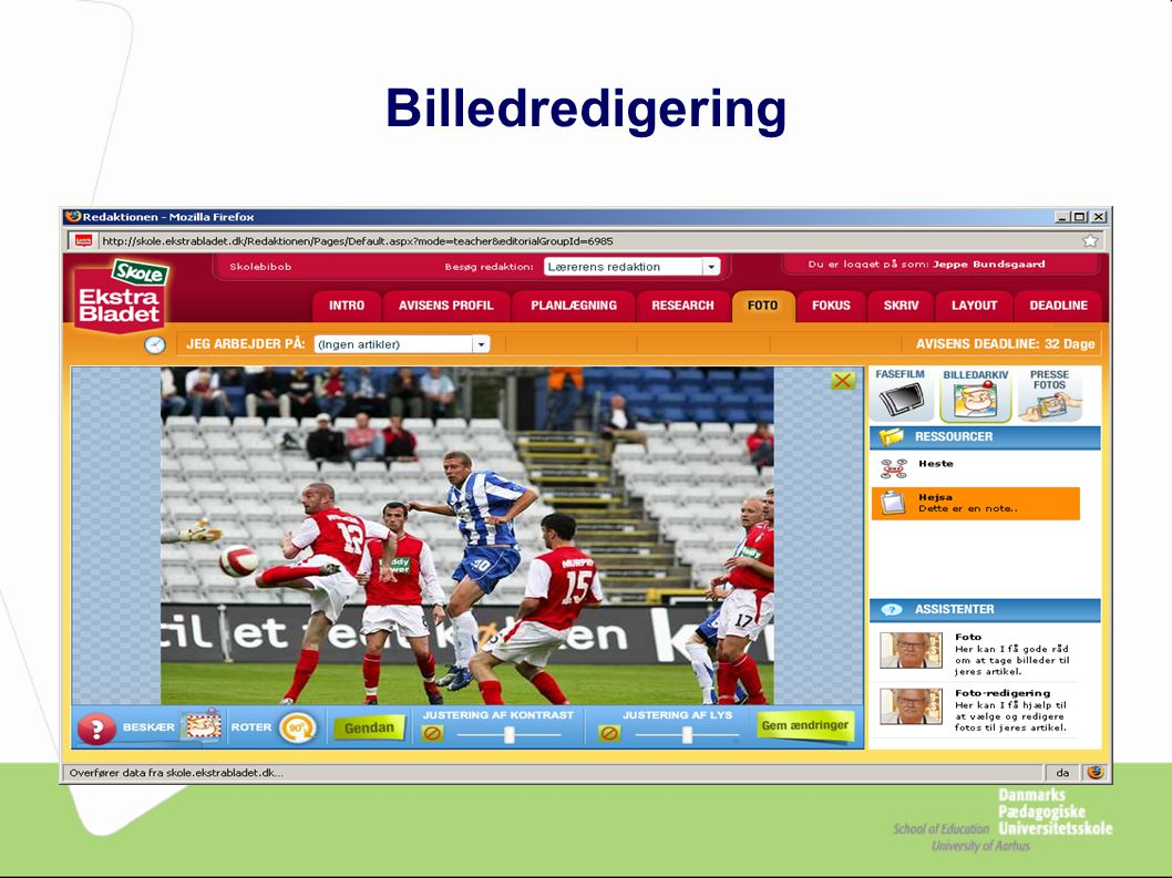 Billedredigering