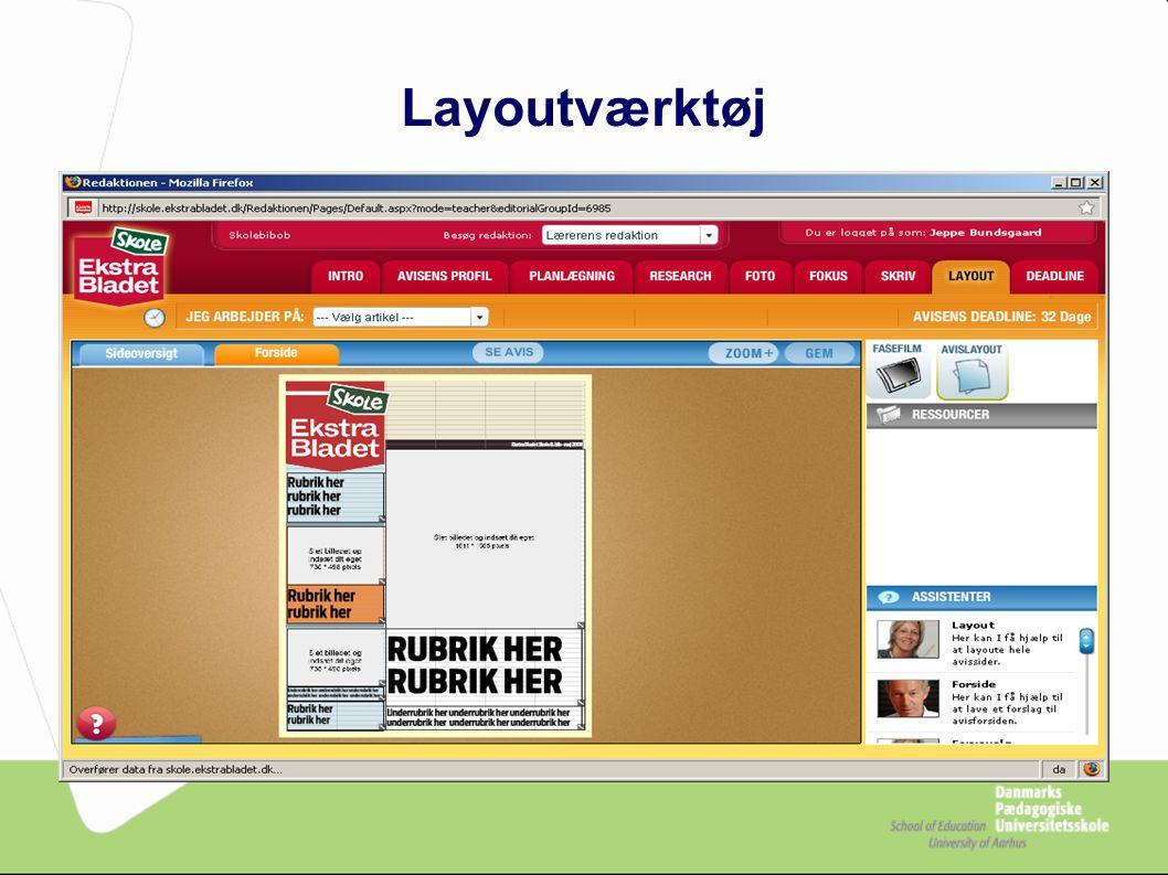 Layoutværktøj