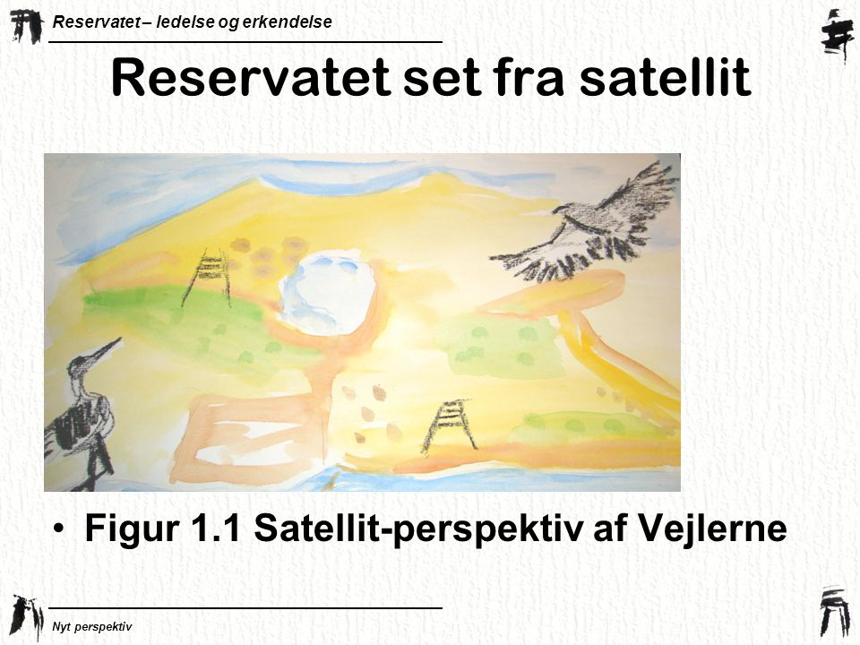 Reservatet set fra satellit